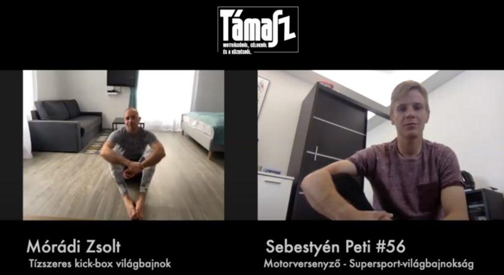 Sebetyén Peti a tízszeres kick-box világbajnok Mórádi Zsolttal beszélgetett