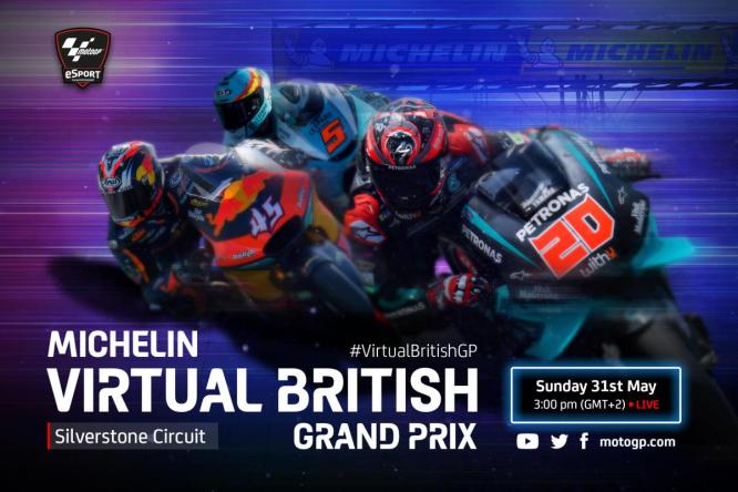 Három mezőny a MotoGP következő virtuális versenyén