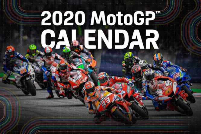 Végre itt a MotoGP 2020-as naptára!