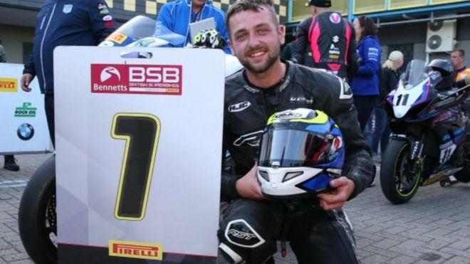 Elhunyt Ben Godfrey Superbike versenyző
