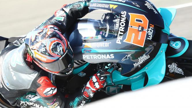 Quartararo nyert, Vinales és Rossi a dobogón