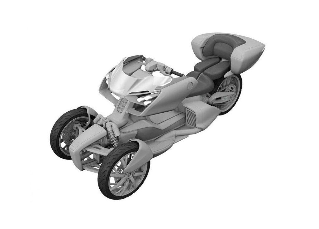 Újabb Yamaha trike készülhet