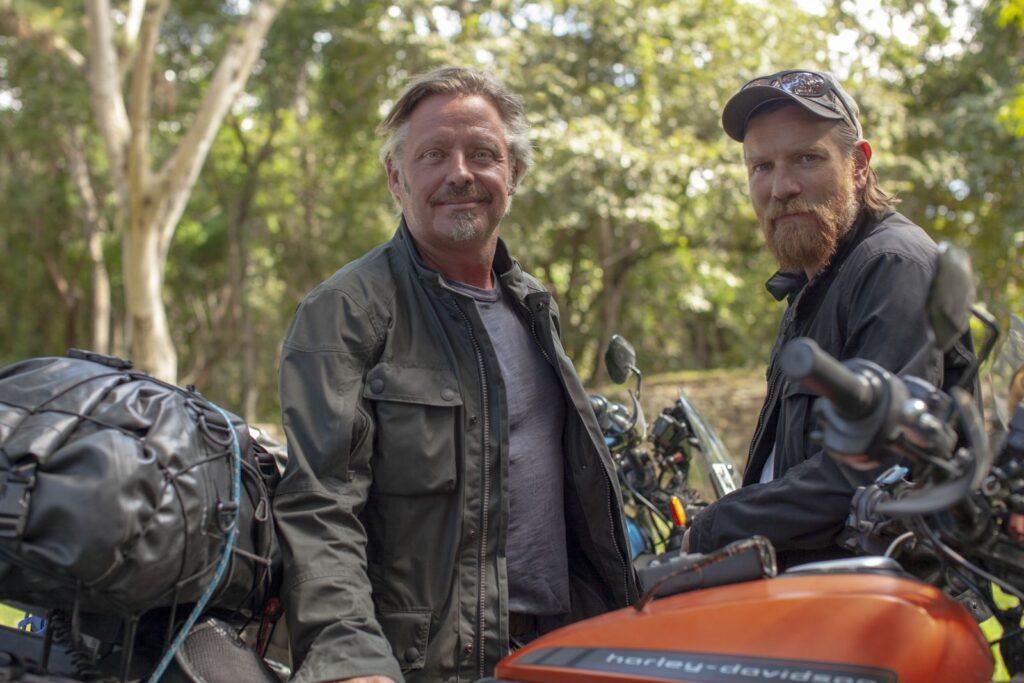 Ewan McGregor és Charley Boorman a Harley-Davidson LiveWire nyergében térnek vissza