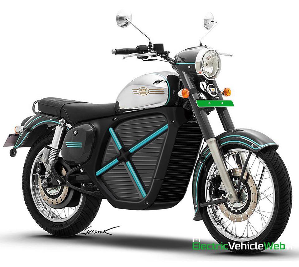 Úgy fest, hogy a Jawa elektromos motort fejleszt