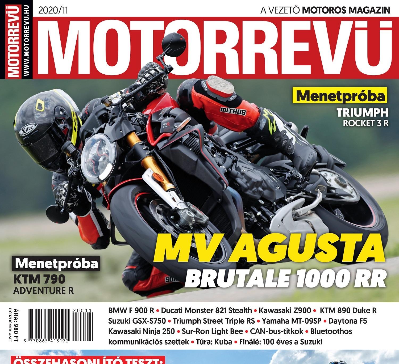 Megjelent a Motorrevü 2020/11-es száma!