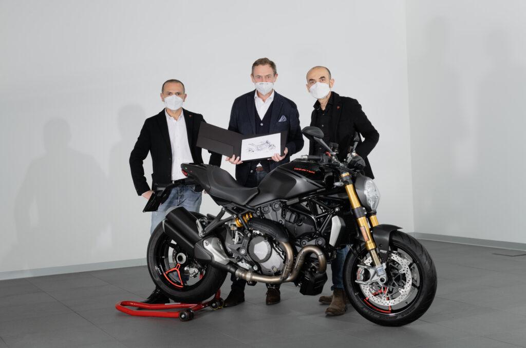 Elkészült a 350 ezredik Ducati Monster