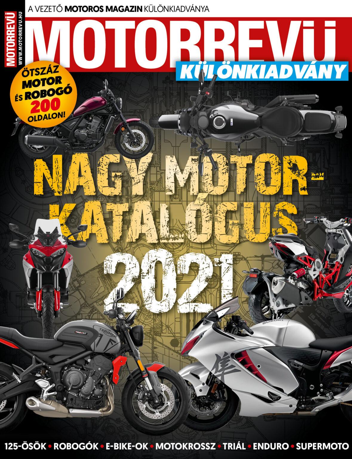 Újra itt a Nagy Motor Katalógus!