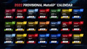 Rekordszámú futam a 2022-es MotoGP-naptárban